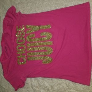 Pink Juicy Couture shirt